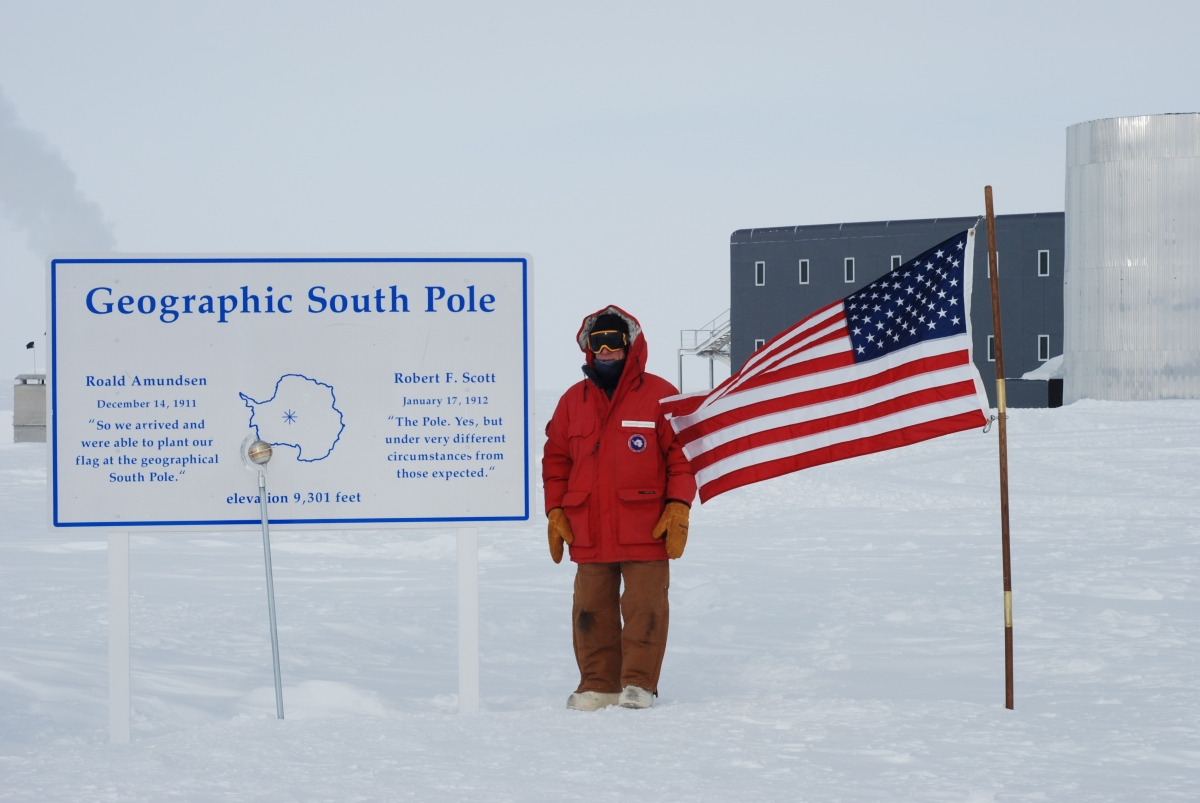 At the SouthPole